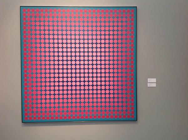 Julian Stanczak, Mitchell-Innes & Nash, Stand D3, photo Contemporary Lynx
