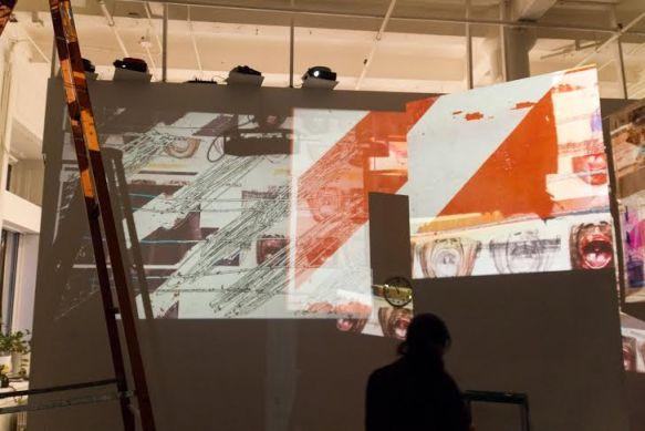 Radek Szlaga & Konrad Smolenski, Tribute to Errors and Leftovers, collaboration Daniel Szwed & Dean Spunt, Fridman Gallery, NYC 2013, photo Contemporary Lynx