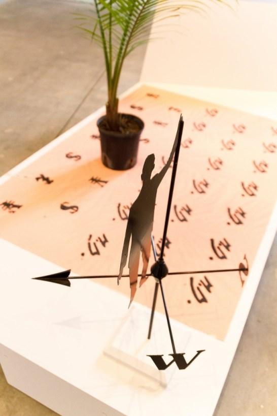 Installation view, Agnieszka Kurant: exformation, SculptureCenter, 2013. Photo: Contemporary Lynx