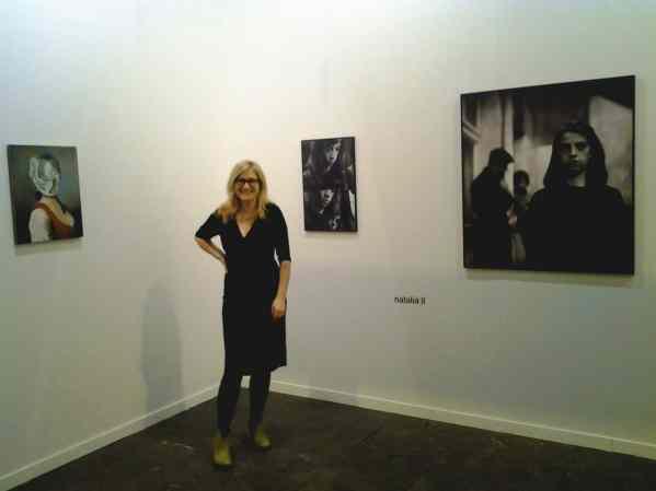 lokal_30 booth, Agnieszka Rayzacher (Director), photo courtesy lokal_30