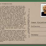 PostcART: DR. OSMAN DJAJADISASTRA – COLLECTOR