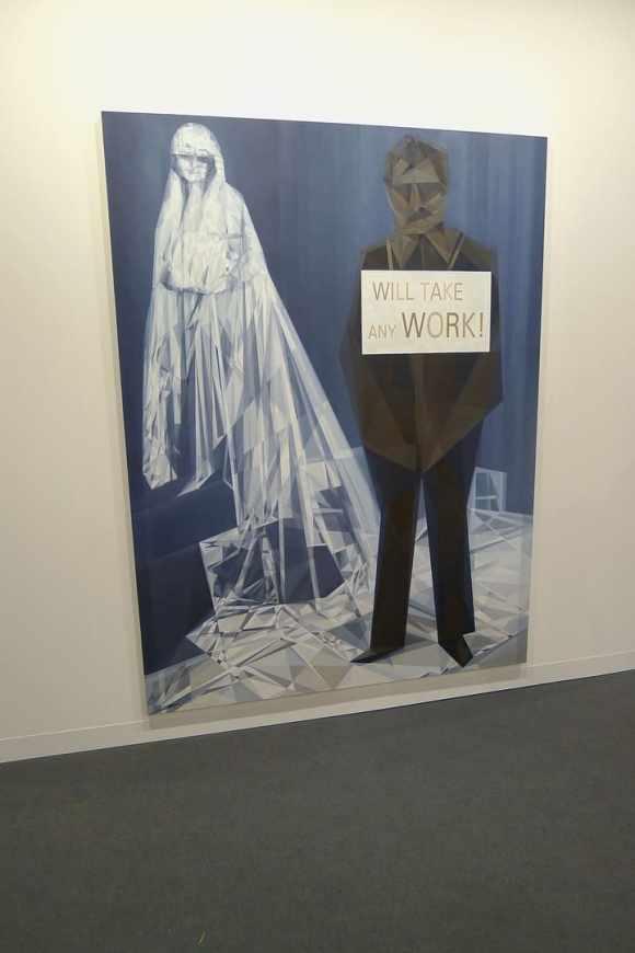 Anna Ostoya, Bortolami Gallery, photo Andrzej Szczepaniak for Contemporary Lynx