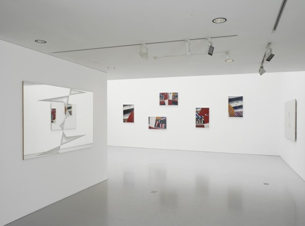Installation views, EUSTACHY KOSSAKOWSKI & GOSHKA MACUGA, Report from the Exhibition, Kate MacGarry, 2014
