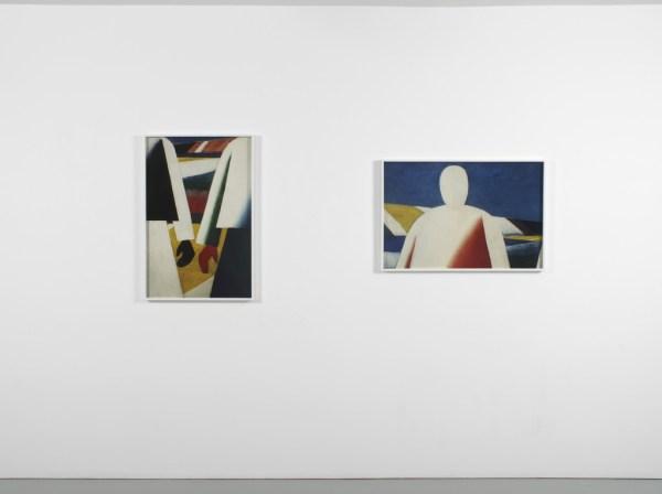 Installation views, EUSTACHY KOSSAKOWSKI & GOSHKA MACUGA, Report from the Exhibition, Kate MacGarry, 2014
