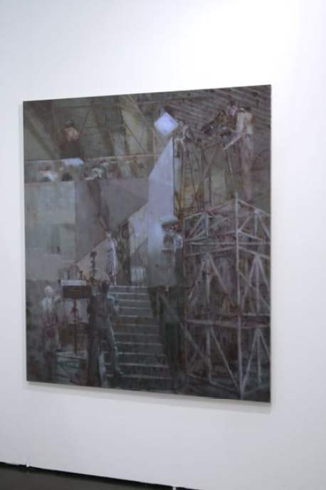 Paweł Książek, Zak Branicka Gallery, Viennafair, 2014, photo Contemporary Lynx