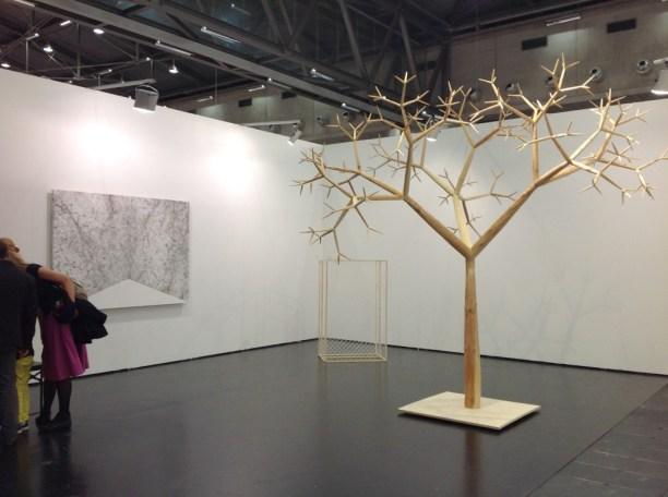 Szymon Kobylarz, Zak Branicka Gallery, Viennafair, 2014, photo Contemporary Lynx