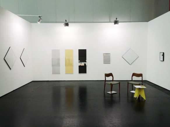 Marcin Zarzeka, Dawid Radziszewski Gallery, Viennafair, 2014, photo Contemporary Lynx