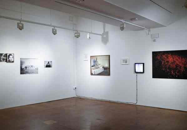 Sputnik Photos, exhibition view: 'Hunter' at the Derby Museum and Art Gallery, FORMAT International Photography Festival 2015, photo Michał Łuczak
