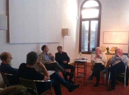 Henry Meyric Hughes, Branko Franceschi, Juraj Čarný, Andrzej Szczerski, AICA and the Venice Biennale, photo Contemporary Lynx