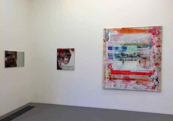 Radek SZLAGA, The Heart, exhibition view, courtesy Galerie Laure Roynette
