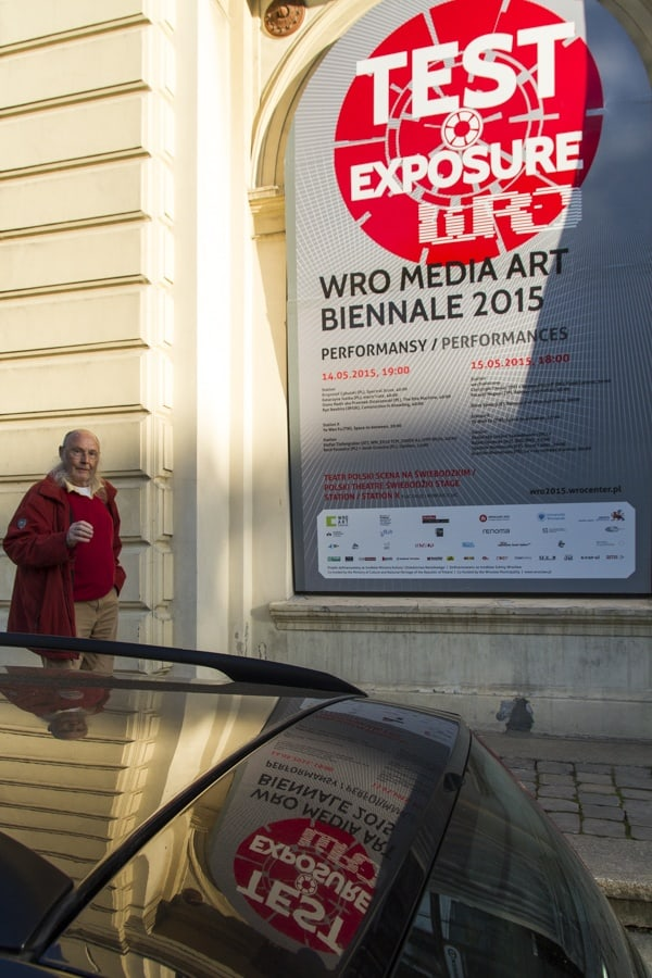 The 16th Media Art Biennale WRO, Wrocław, 2015, photo Contemporary Lynx