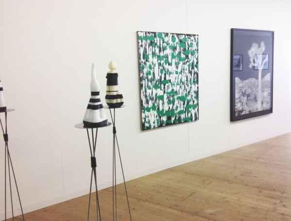 Janek Simon, Przemek Matecki, Raster Gallery, Liste, The Young Art Fair in Basel, photo Contemporary Lynx