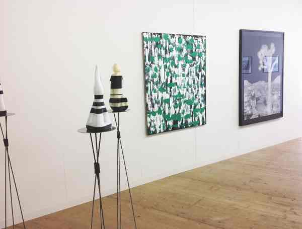 Janek Simon, Przemek Matecki, Raster Gallery, Liste, The Young Art Fair in Basel, photo Contemporary Lynx