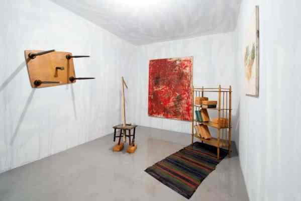 Andriy Sahaydakovsky, exhibition view, Dispossession, Venice 2015, photo Małgorzata Kujda
