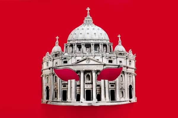 Ada Karczmarczyk Mask (St. Peter's Basilica ) from The Brides project, 2015 courtesy of the artist