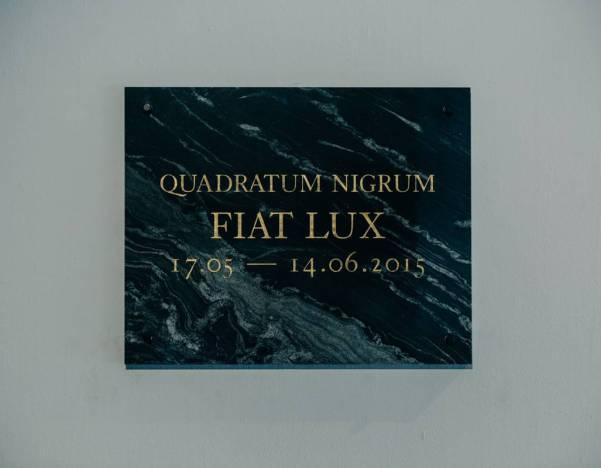 Quadratum Nigrum: Mateusz Okoński, Jakub Skoczek and Jakub Woynarowski, 'Fiat Lux' 2015 Krkow, photo courtesy the artists and Bunkier Sztuki