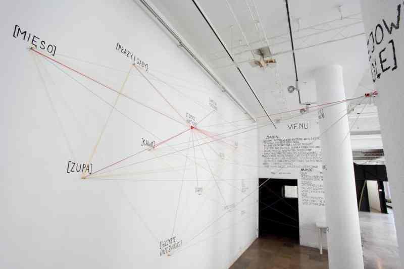 Food Think Tank, Installation Ziemia Woda,Dizajn BWA Gallery, Wrocław, 2015, image © Karolina Zajączkowska & Jędrzej Stelmaszek