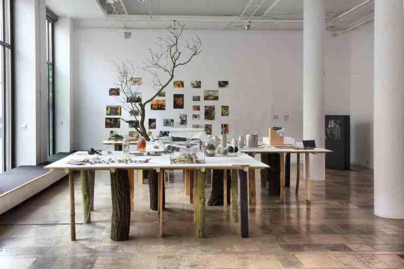 Food Think Tank, Installation Ziemia Woda,Dizajn BWA Gallery, Wrocław, 2015, image© Karolina Zajączkowska i Jędrzej Stelmaszek