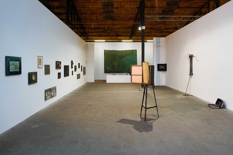 Jean-Pierre Temmerman, exhibition view, The Verbeke Foundation. Photo by Marek Wolynski