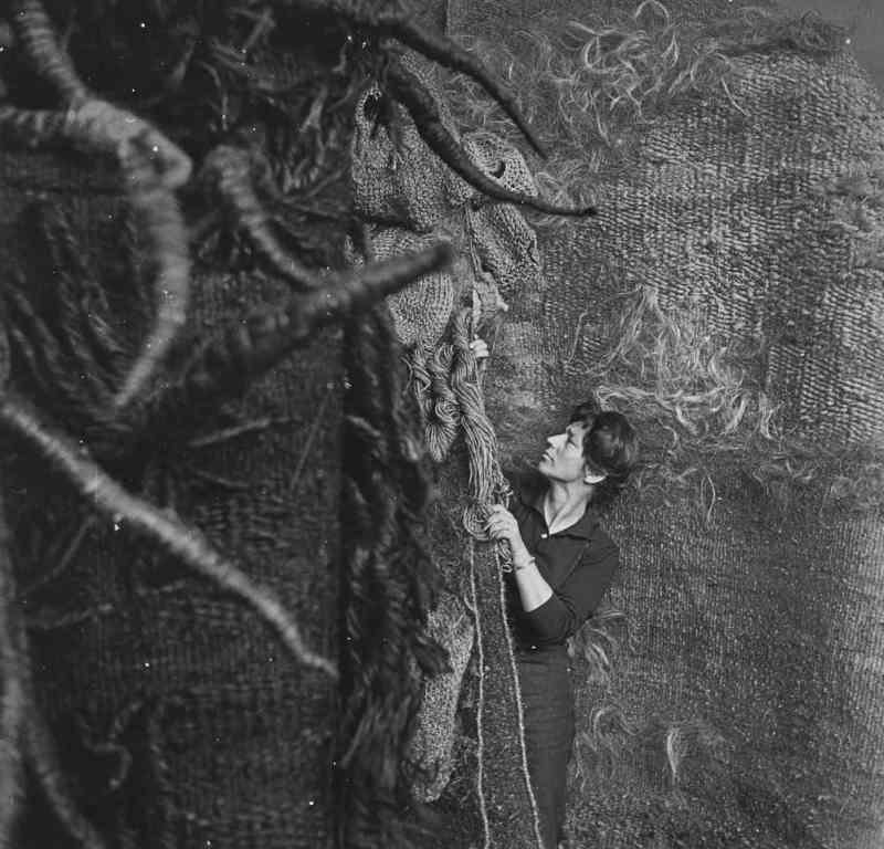 Magdalena Abakanowicz, 1969, photo artist's archive