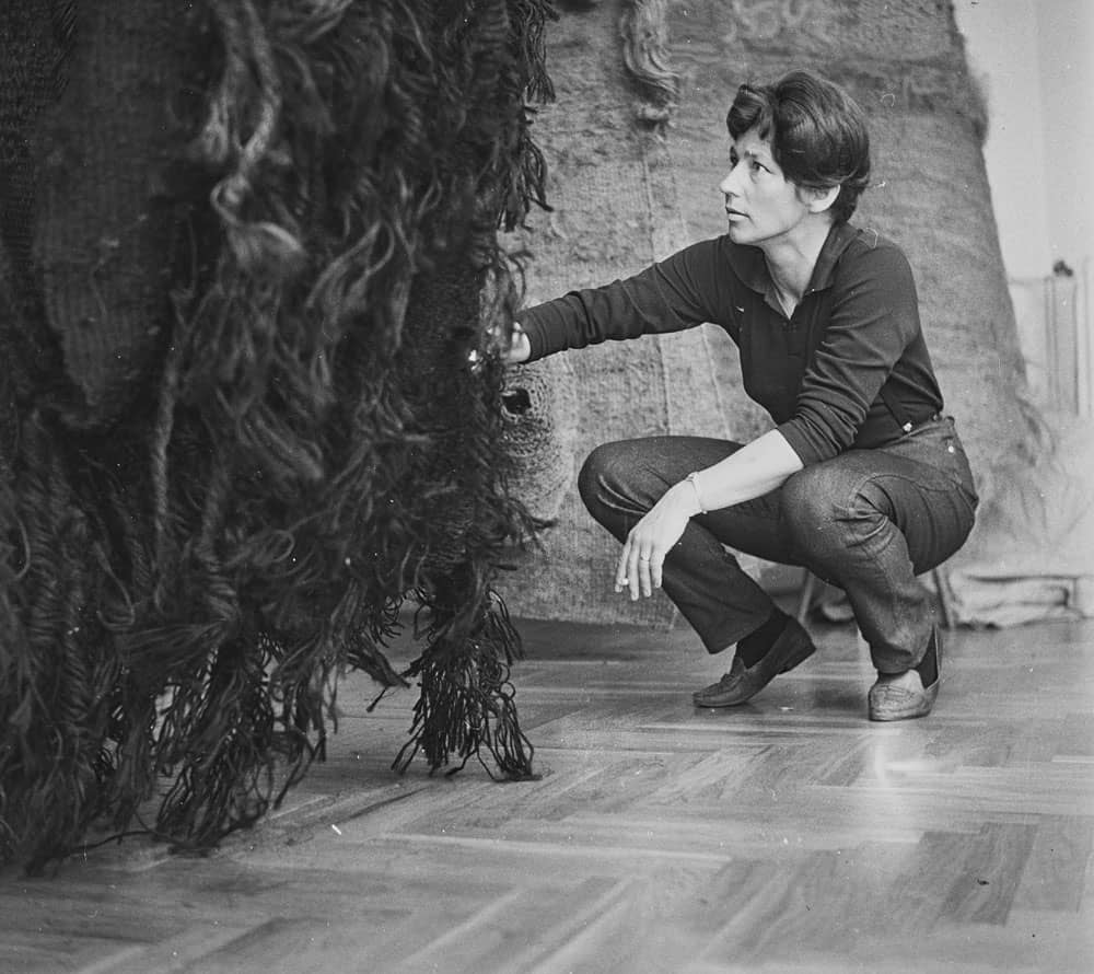 Magdalena Abakanowicz, 1960s, photo artist's archive