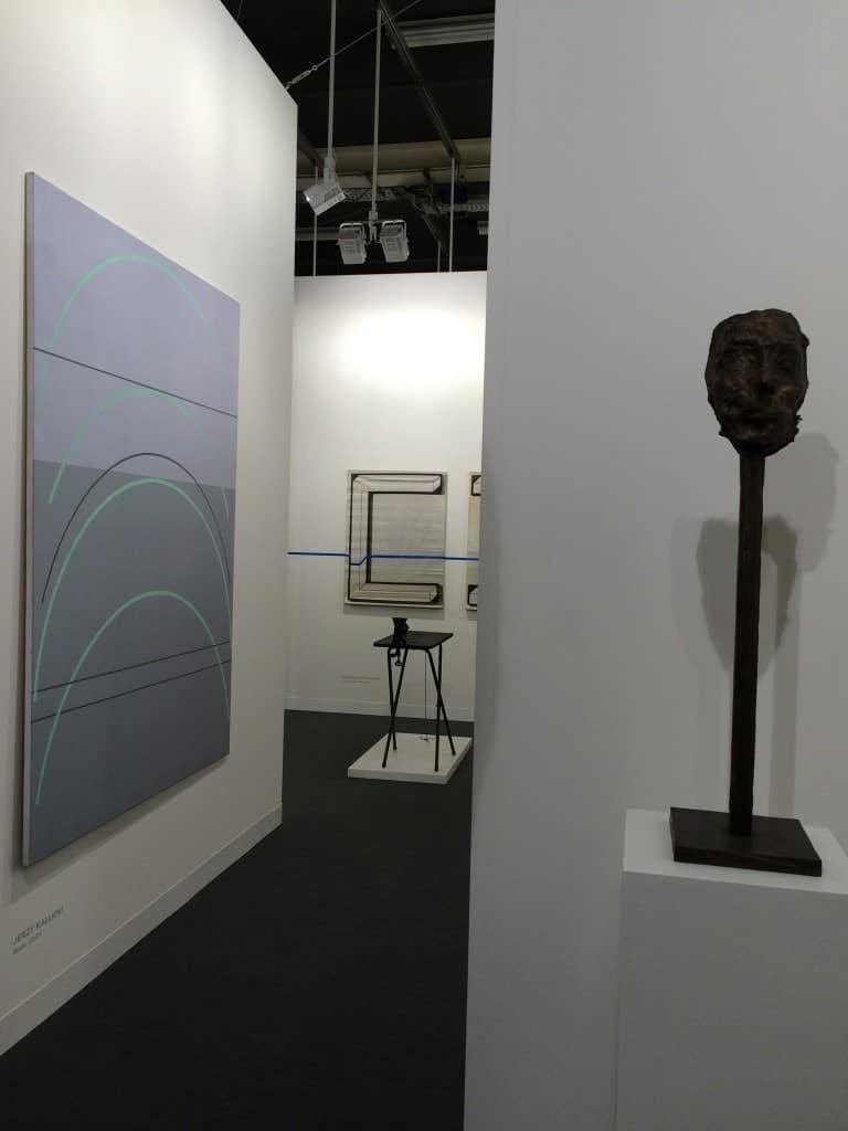Jerzy Kałucki, Magdalena Abakanowicz, Art Basel 2016, photo Contemporary Lynx
