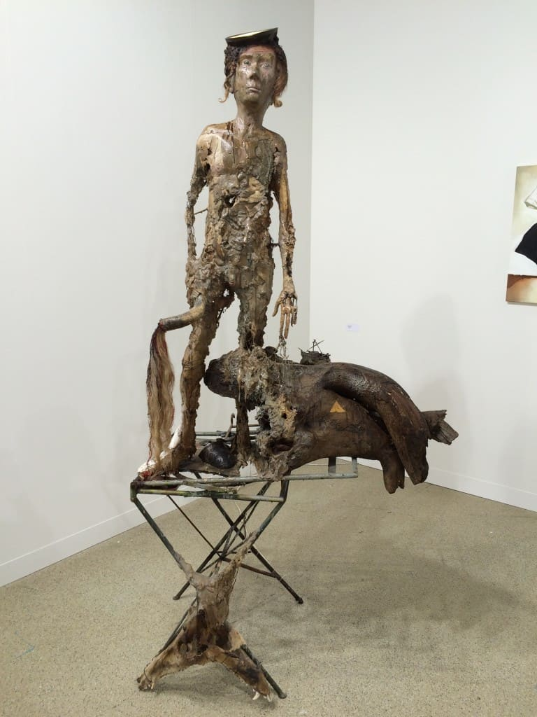 Paweł Althamer, Art Basel 2016, photo Contemporary Lynx