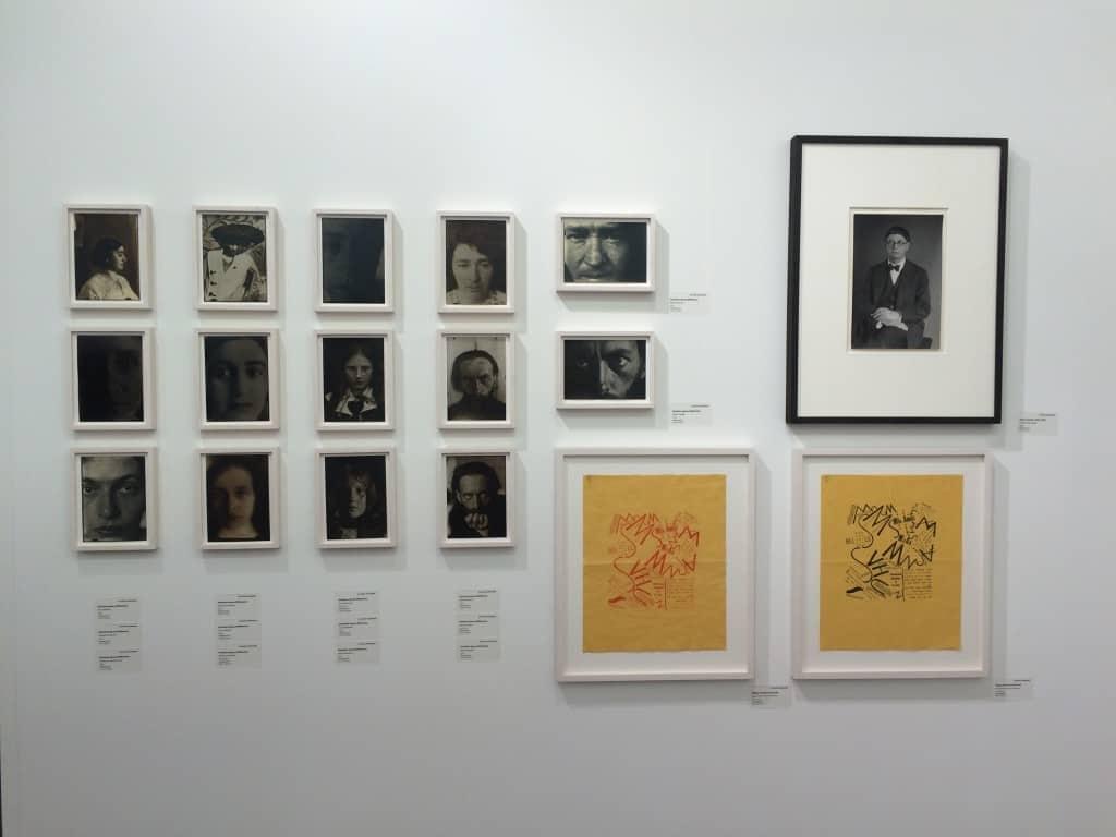 """Stanisław Ignacy Witkiewicz """"Witkacy"""", Art Basel 2016, photo Contemporary Lynx"""