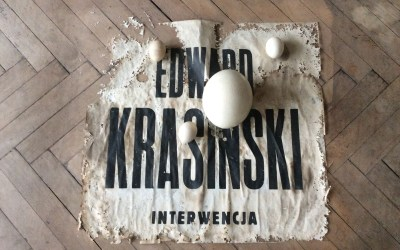 INTO THE STUDIO: EDWARD KRASIŃSKI