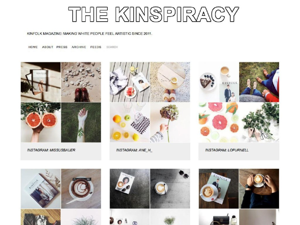 The Kinspiracy