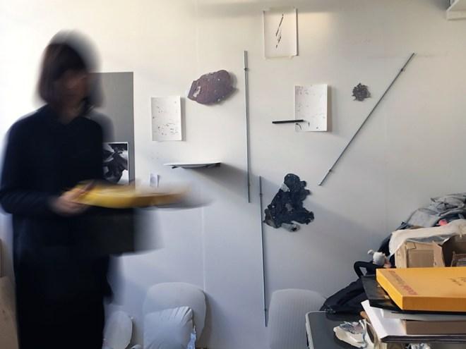 Agata Madejska in her studio