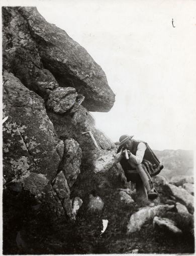 Walery Eliasz Radzikowski, Szymon Talar - hunter, Tatry, III-4578-F-sygn-m-III-3986.