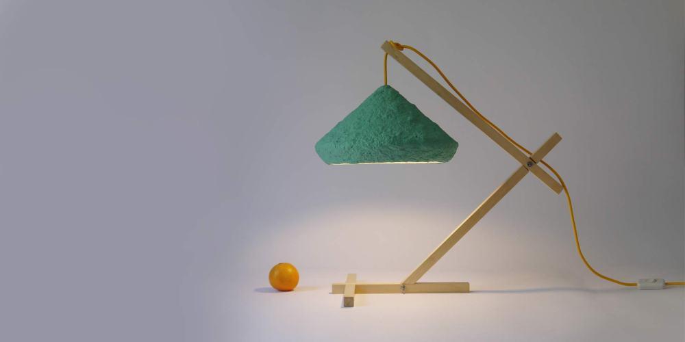Desk lamp Mizuko Green by CreaRe Studio