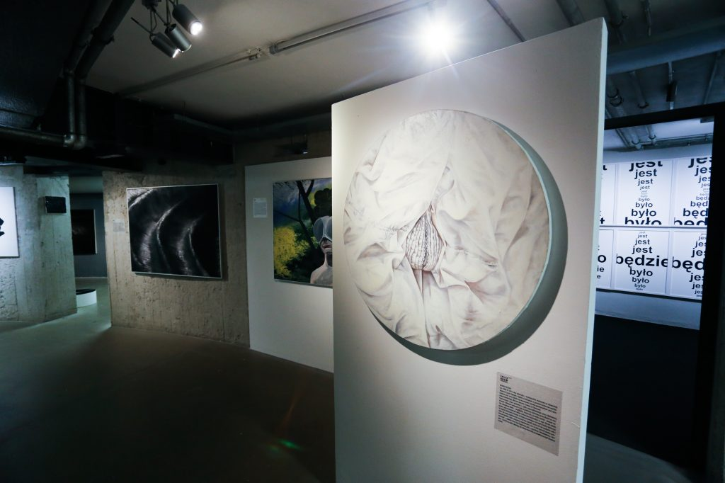 """""""Fresh Blood"""" competition, exhibition view."""