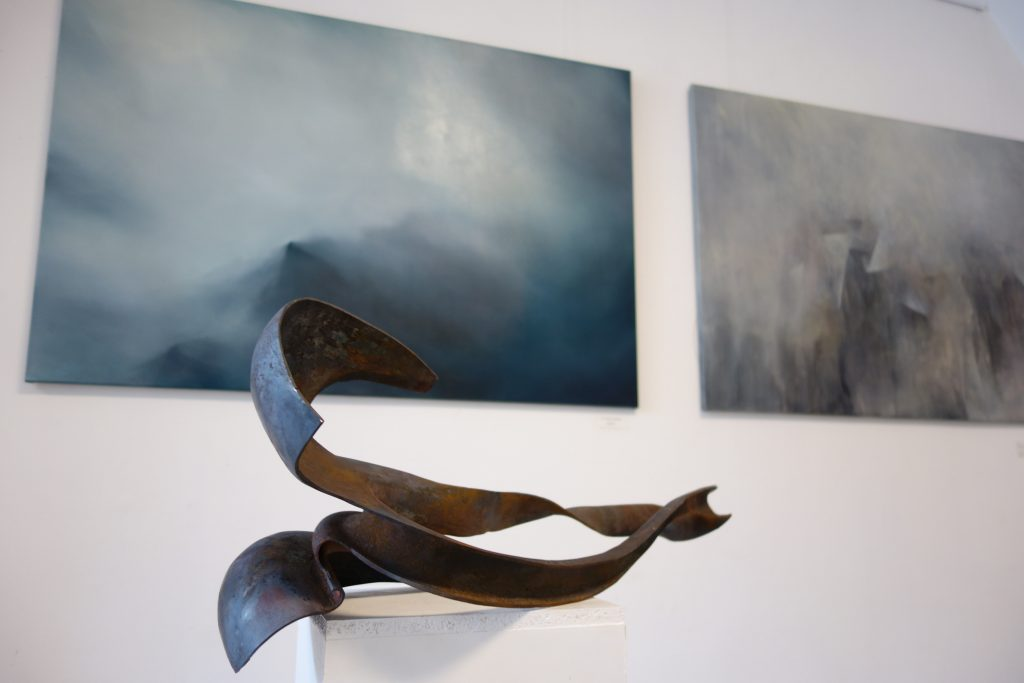 VI Fresh Blood competition, Damia Kucaba - sculptor, Alicja-Jaworska - painting.