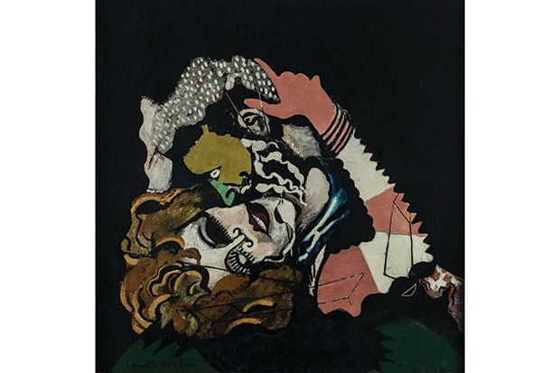 "Francis Picabia's The Lovers, after the rain (1925) from his ""Romantic"" period. (© 2016 Artists Rights Society [ARS], New York/ADAGP, Paris. Photo: © Musée d'Art Moderne/Roger-Viollet)"