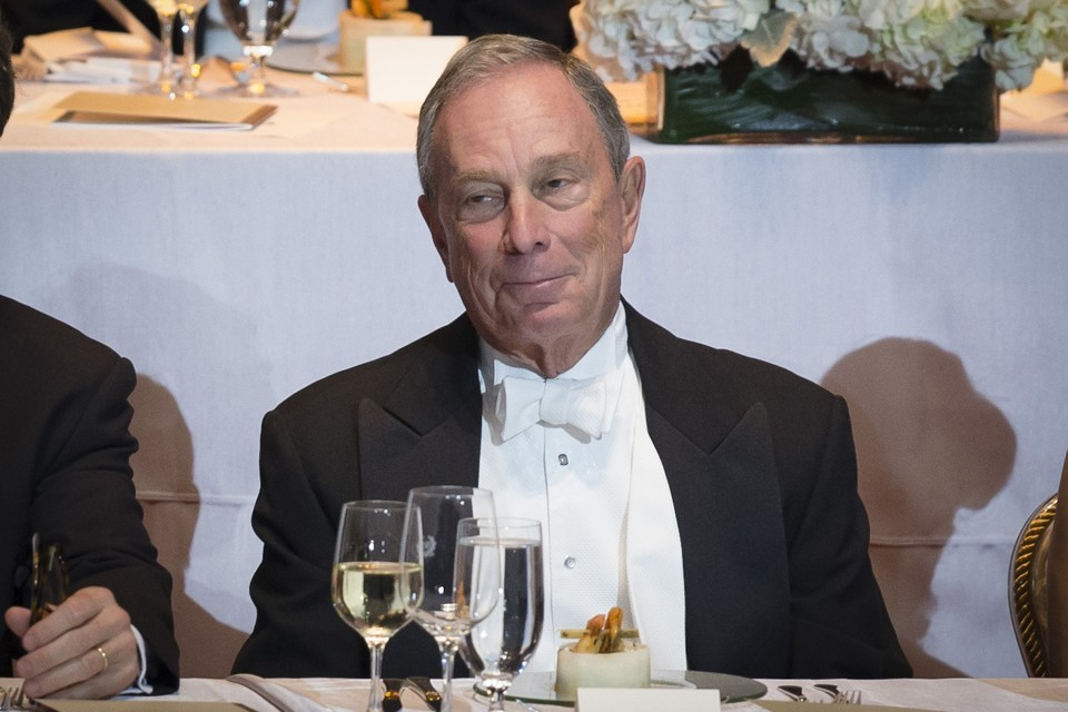 What to read, Michael Bloomberg at a charity gala in New York