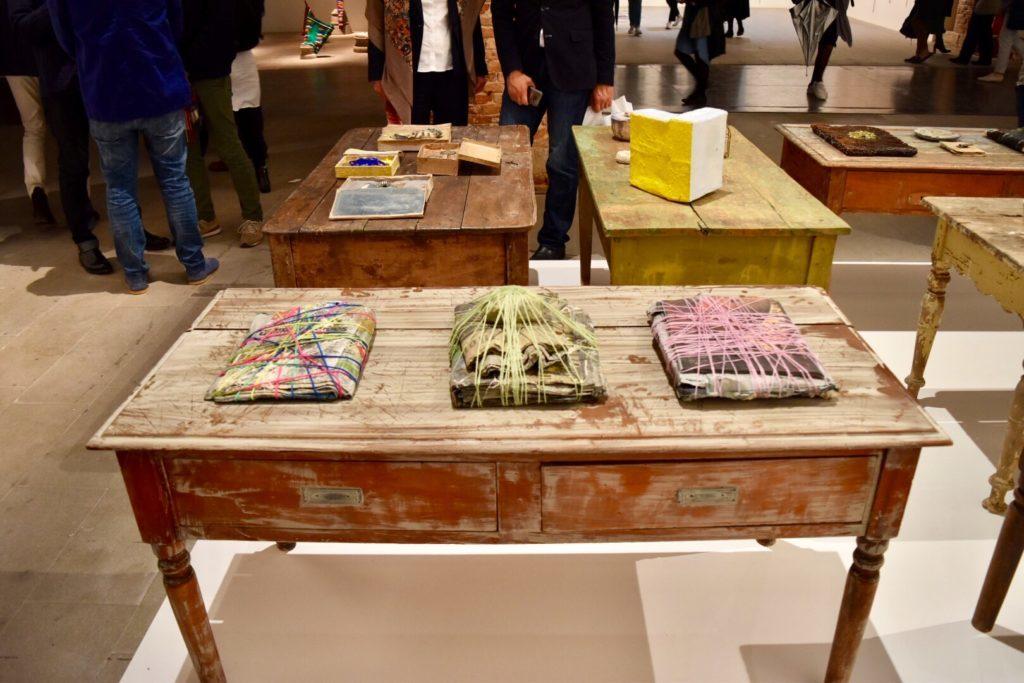 "Michele Ciacciofera's Janas Code (2016-17) in ""Viva Arte Viva"" at the Venice Biennale. Photo by Ben Davis. what to read contemporary Lynx"