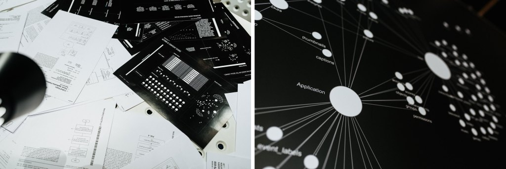 Katarzyna Szymielewicz, Vladan Joler, Paweł Janicki, Facebook Algorithmic Factory, artistic research project + interactive installation, 2017, fot. Damian Śmigielski