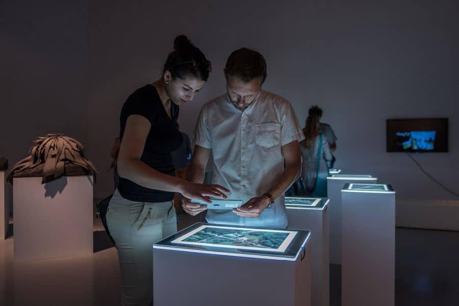 Augmenting the World, Masaki Fujihata, LAZNIA Centre for Contemporary Art in Gdańsk