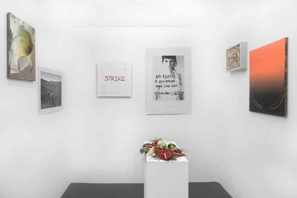 """Tanja Wagner, New York pop-up at 53 Orchard Street, """"LEARNING FROM BIG MISTAKES."""" Courtesy of Tanja Wagner."""
