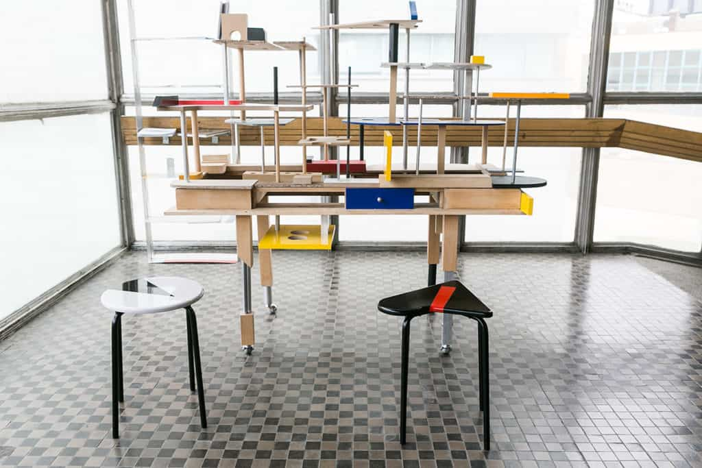 Marek Wagner, The Architectural Desk Structure, photo Dunvael Photography