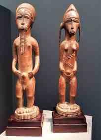 Asi Usu, Bush Spirit Couple. Ivory Coast, image Conteporary Lynx, Frieze Masters 2017