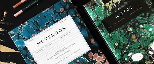 Rzeczownik & Notebook by Katie Leamon