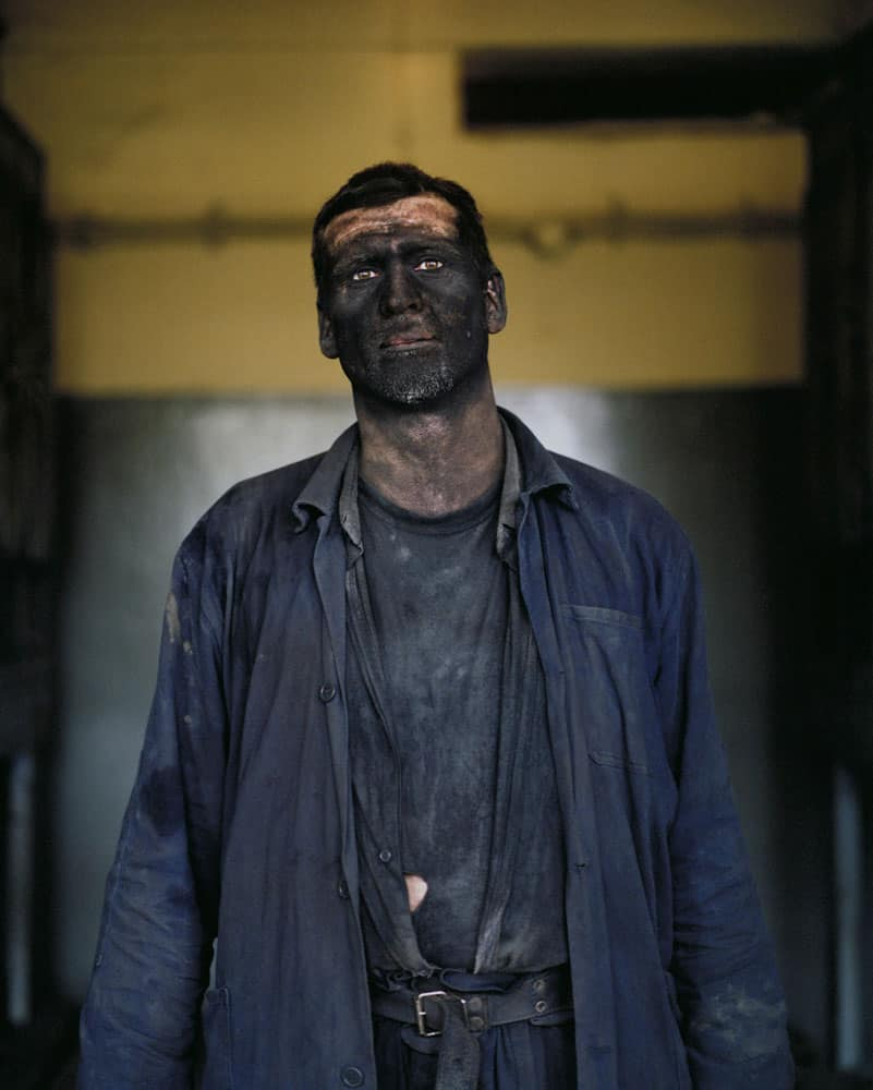 Darek Fortas, Portrait I (Miner After Work), from the series 'Coal Story'; (2011), Courtesy the artist.
