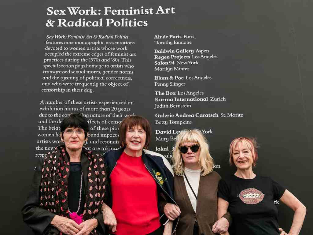Sex Work, Frieze London 2017, Photo by Mark Blower. Courtesy of Mark BlowerFrieze.