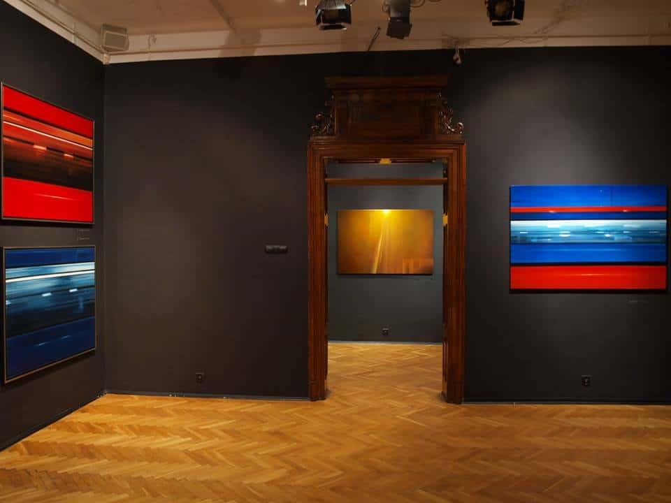 Kalejdoskop obdarzony świadomością' exhibition, BWA Sanok Gallery, Sanok, 2016