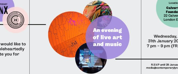 Contemporary Lynx Magazine: An evening of live art and music