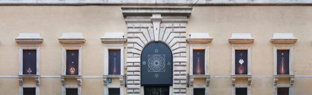 "Jakub Woynarowski, ""Characeristica Universalis"", installation view, Palazzo Ruspoli / Fondazione Memmo, Rome, 2017, photo: Jakub Woynarowski"