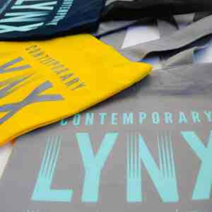 Contemporary Lynx tote bag